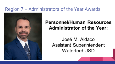 ACSA Administrator of the Year