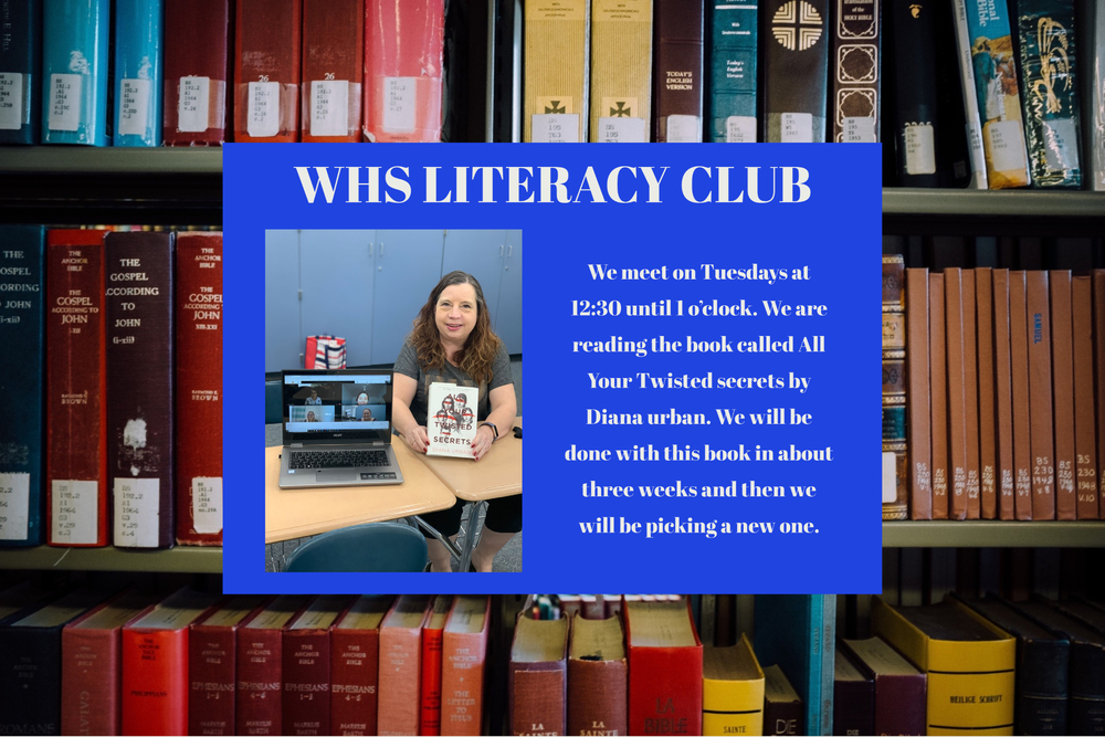 WHS Literacy Club