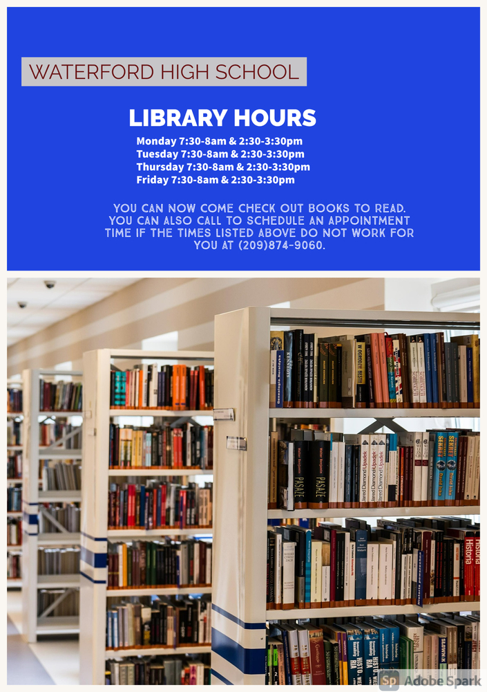 WHS Library Hours