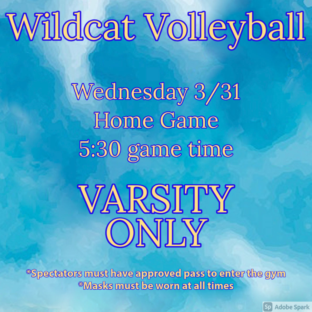 Volleyball Game - Varsity Only