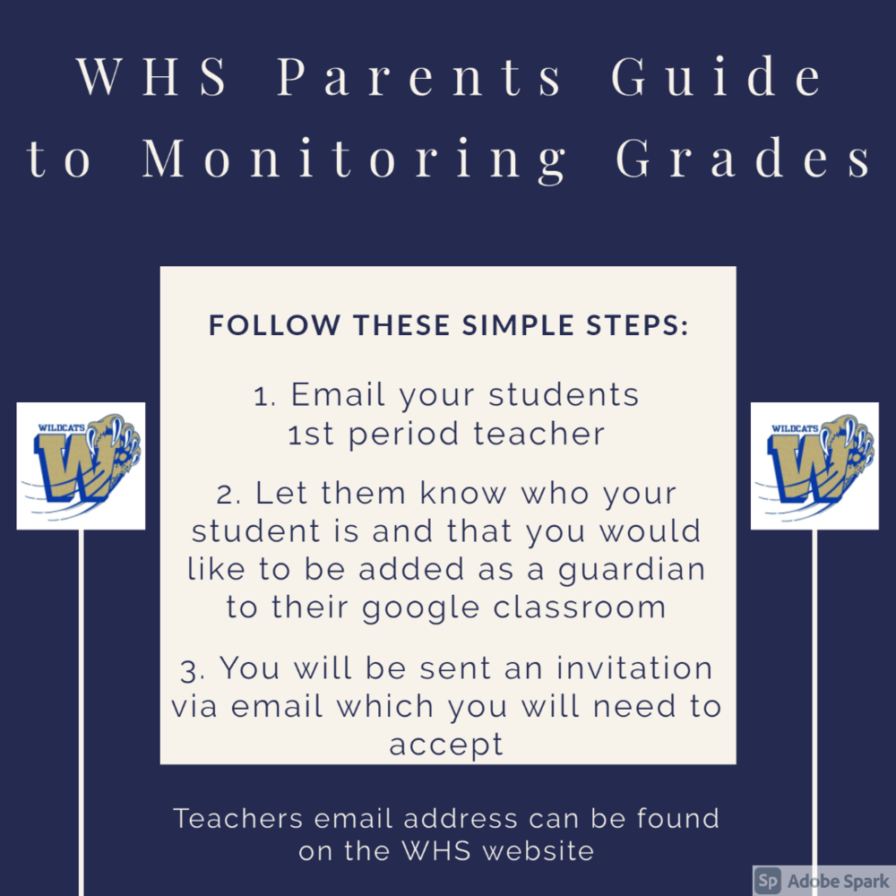 WHS Parents Guide to Monitoring Grades