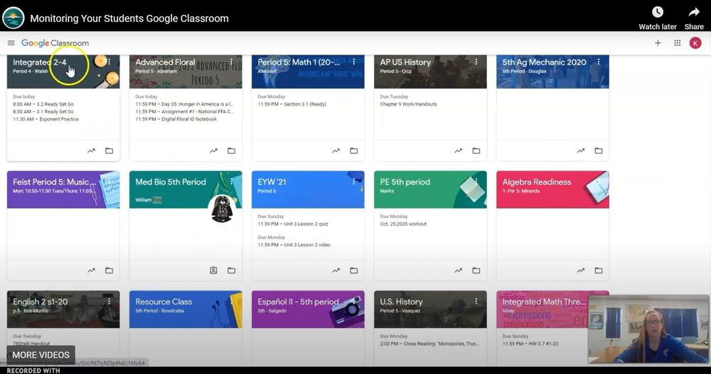 How to Monitor Your Students Google Classroom