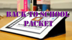 Student First Day Registration Packet