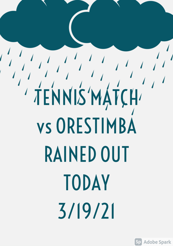 Tennis Rained Out