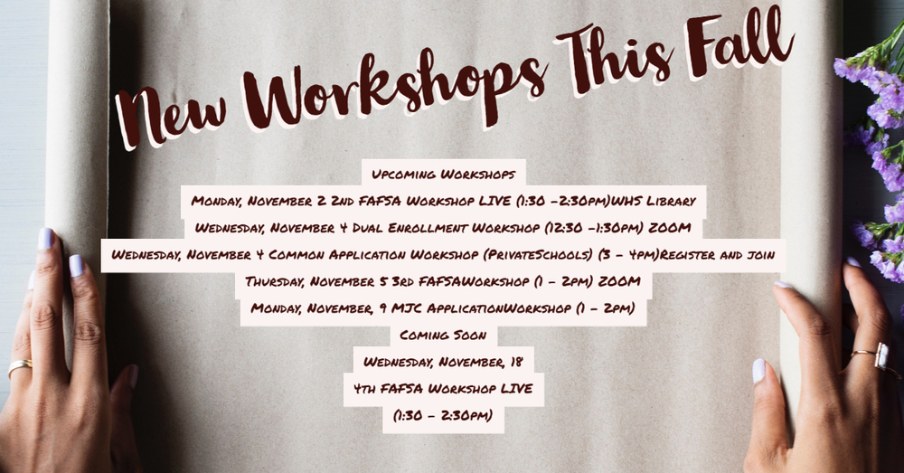 WHS Workshops