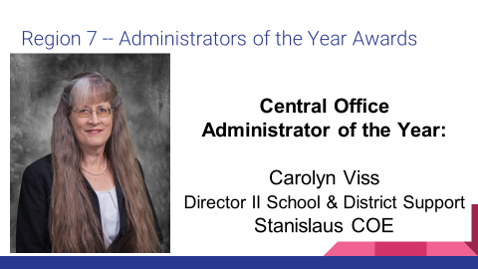 ACSA Administrator of the Year!