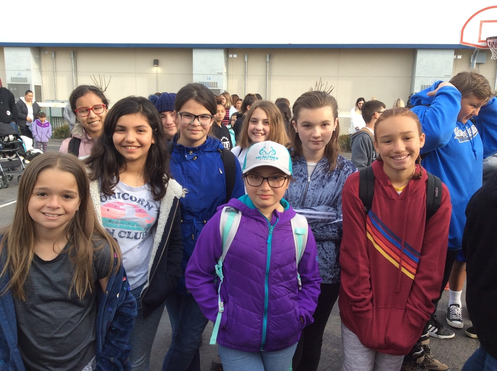 We're Off to 6th Grade Outdoor Ed Camp!