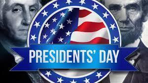 Presidents Day Weekend Holiday