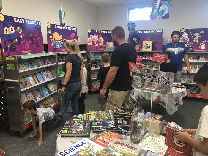 LWIS Scholastic Book Fair