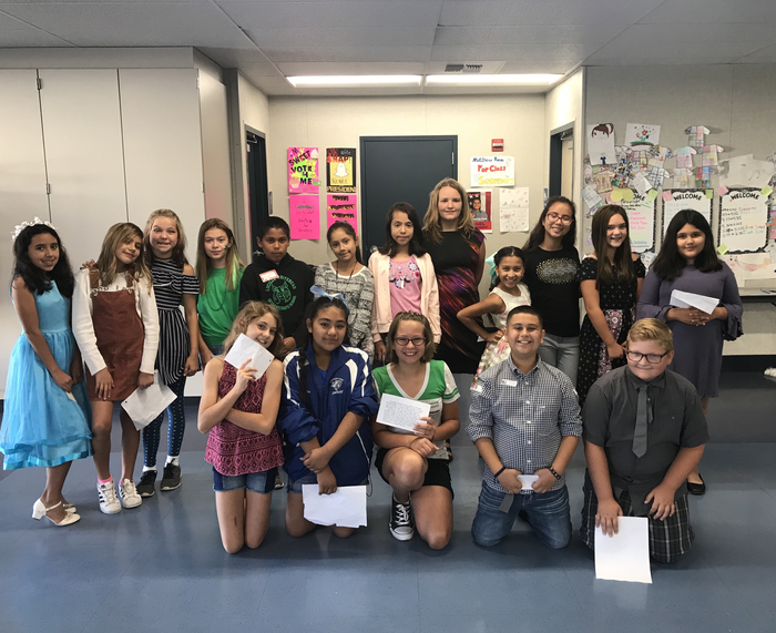 LWIS Student Council Candidates