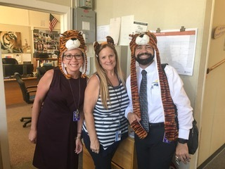 Our office has Tiger Pride!!