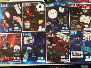 Prizes for selling