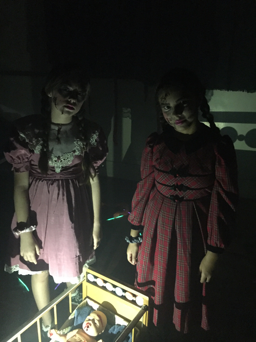 Scary girls!
