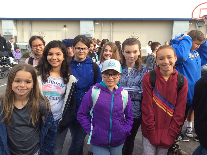 6th Graders are Off to 6th Grade Camp