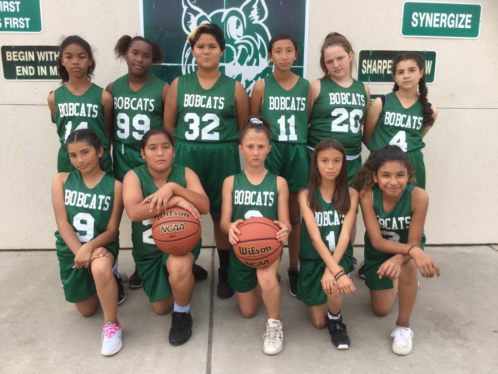 LWIS 6th Grade GIrls Basketball Team
