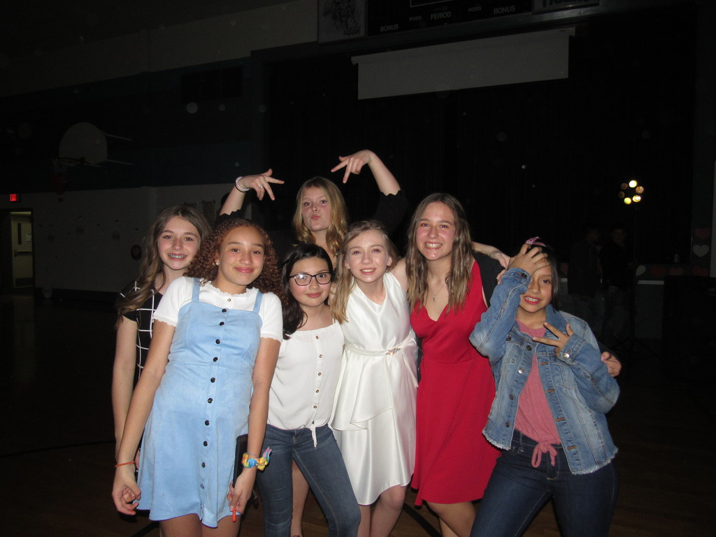 Girls at the dance