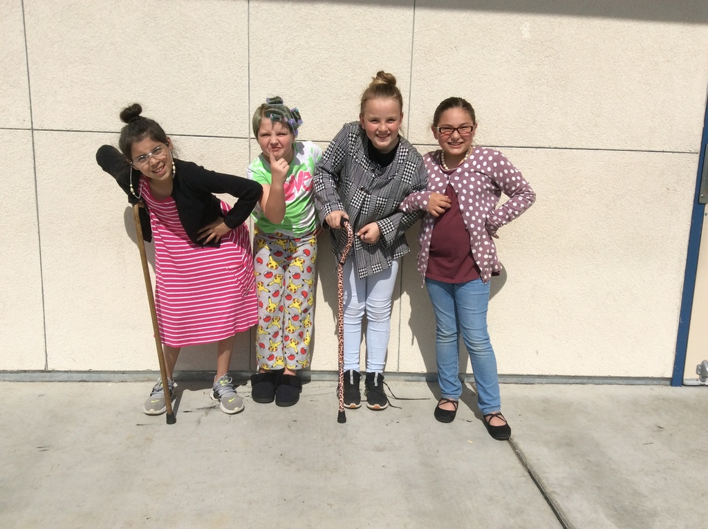 Senior Citizens Dress Up Day